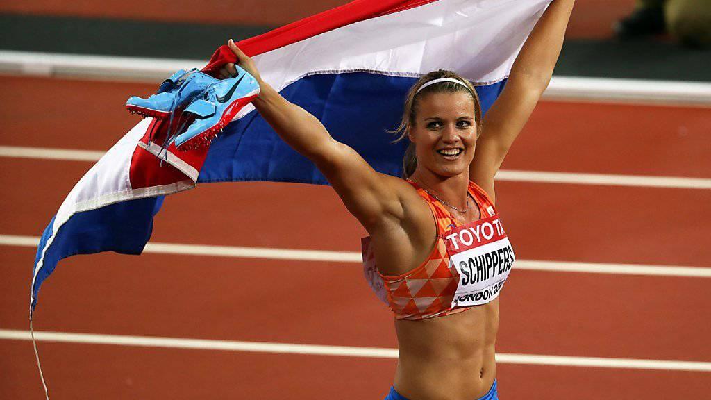 Dafne Schippers liess sich nach 2015 erneut zur Weltmeisterin über 200 m küren