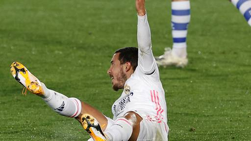 Eden Hazard erlitt Oberschenkelverletzung