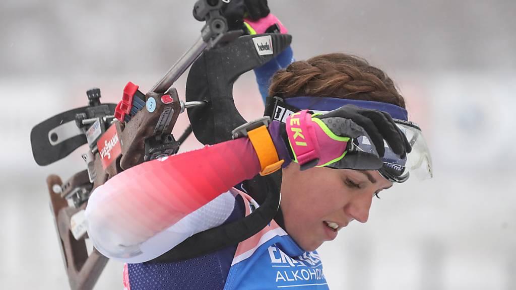Schweizer Frauenstaffel glänzt in Ruhpolding mit 3. Rang