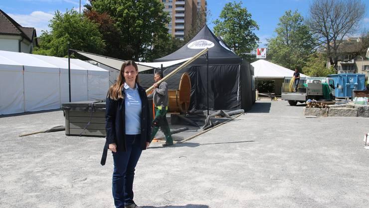 OK-Präsidentin Karin Birchmeier freut sich auf die Gewerbeausstellung Undob.