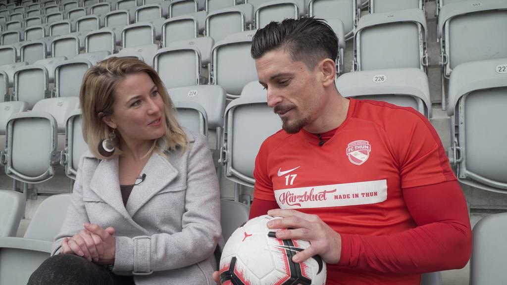 Liebe, Muskeln & Verletzungspech: Im Alltag von FC Thun-Captain Dennis Hediger