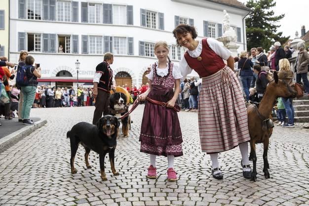 Hunde sind am Chästag auch gerne gesehen.