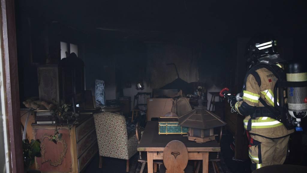 Die Todes-und Brandursache werden jetzt ermittelt.