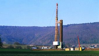 Bohrungen der Nagra am Bözberg. In Zeihen soll auch Sondierbohrungen für ein Tiefenlager durchgeführt werden.