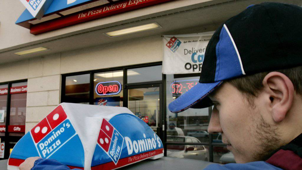 Die herkömmliche Pizza-Lieferung erhält Konkurrenz aus der Luft (Archiv)
