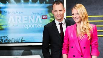 "Jonas Projer und Christa Rigozzi moderieren ""Arena/Reporter""."