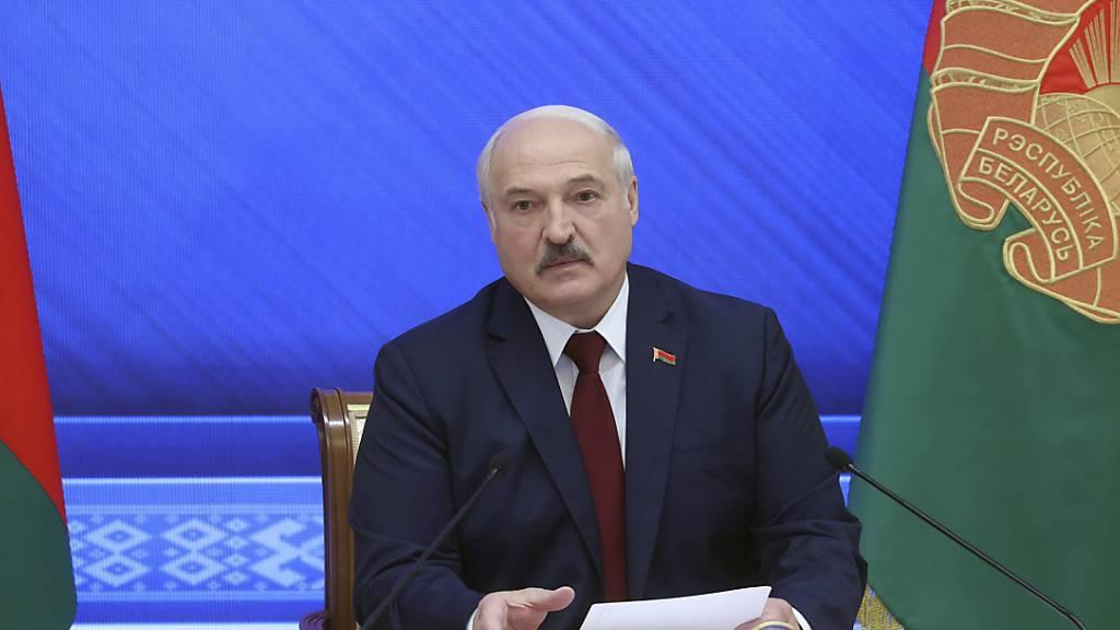 Lukaschenko: Sprinterin Timanowskaja vom Westen manipuliert