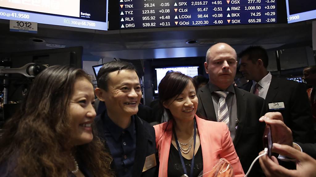 US-Regierung droht chinesische Firmen von US-Börsen zu verbannen