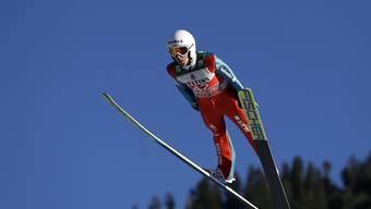 Simon Ammann überstand die Qualifikation in Oberstdorf erwartungsgemäss ohne Probleme, hat aber noch viel Luft nach oben