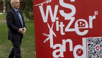 Türöffner für die Finanzwirtschaft: Bundesrat Ueli Maurer am 14. April in der Schweizer Botschaft in Peking.
