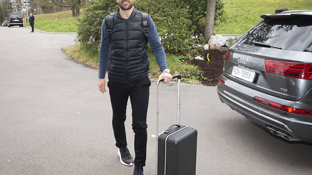 Admir Mehmedi ist wegen einer Erkältung nicht nach Tiflis gereist