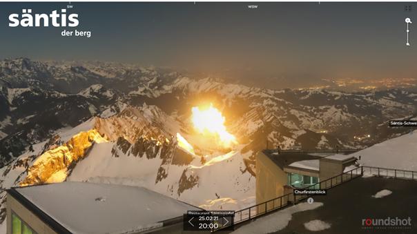 Mysteriöser Feuerball beim Säntis: So erklärt sich das Militär