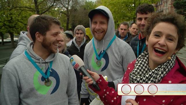 Quizzenswert am Zürich Marathon