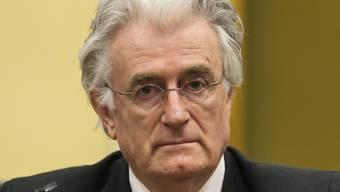 Der frühere bosnische Serbenführer Radovan Karadzic (Archiv)