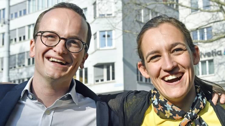 Martin Neukom (Grüne) holt im März einen Regierungsratssitz, Parteikollegin Marionna Schlatter wird im Herbst Nationalrätin.