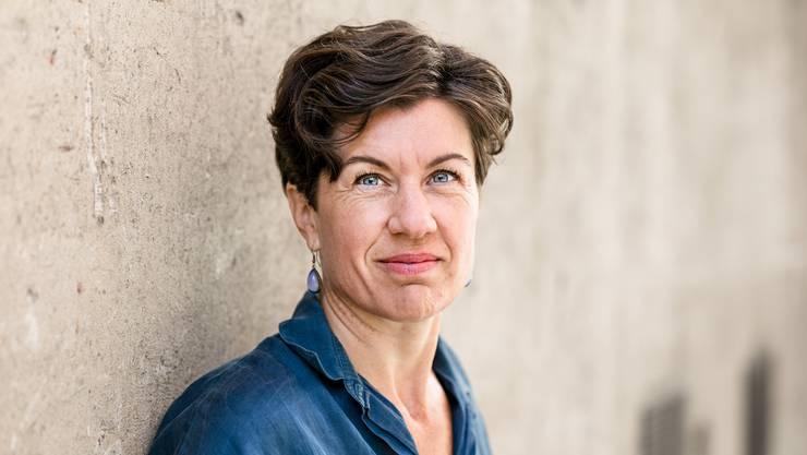 Die Lyrikerin Nathalie Schmid.
