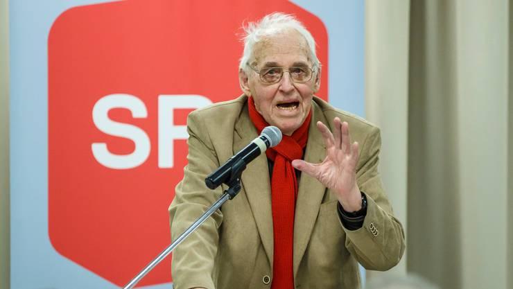 Der langjährige Präsident der SP Schweiz ist 94-jährig verstorben. (Archivbild)