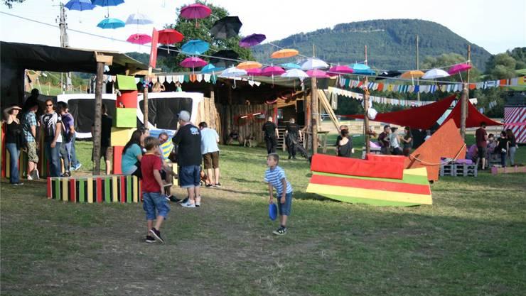 Das «Sicht Feld Openair» (hier 2015) bietet neu am Samstag auch ein Programm für Kinder an. zvg