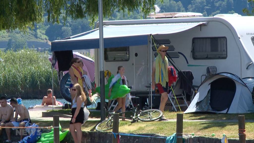 Grosser Andrang auf Campingplätze im Tessin