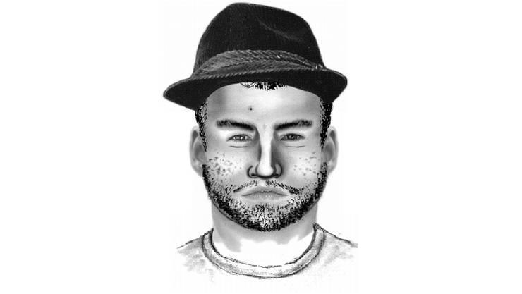 Mit diesem Phantombild sucht die Polizei den Täter.