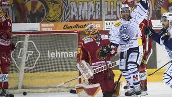 Ambris Duca jubelt und die geschlagenen SCL Tigers müssen gegen den Abstieg kämpfen