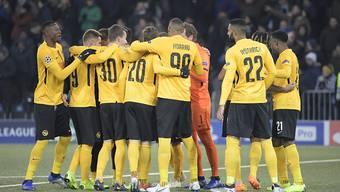Jubelnde Young Boys: Das häufigste Bild im Schweizer Fussballherbst 2018