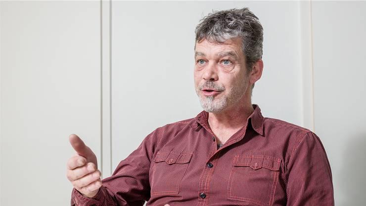 Ein Genussmensch: Der parteilose Markus Briner ist neuer Gemeindeammann von Othmarsingen.Sandra Ardizzone