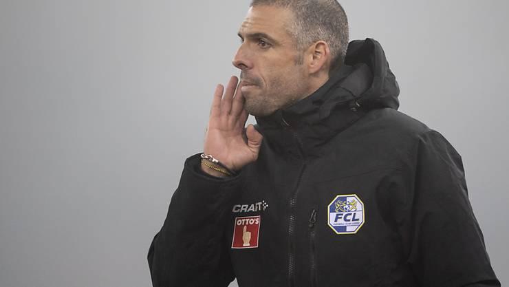 Fabio Celestini wird dem FC Luzern gegen die Young Boys kein neues Spielkonzept eintrichtern