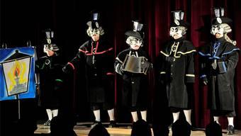 Comite Schnitzelbangg Glasladärne: Die feine Satire der Blätzbums-Opéra versteht man meist nur, wenn man in Birsfelden wohnt.Kenneth Nars