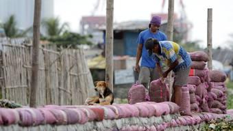 Taifun Haiyan ist im Anzug auf die Philippinen