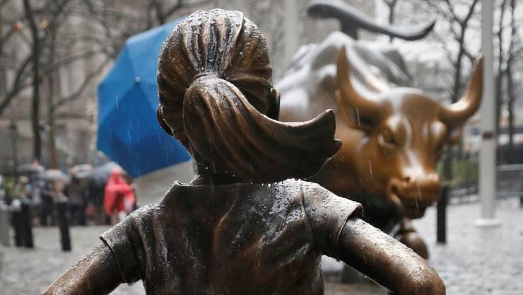 Das «furchtlose Mädchen» in New York.