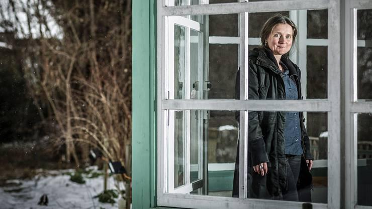 Die Lyrikerin Marion Poschmann gastiert für drei Monate im Literaturhaus in Lenzburg, um dort zu schreiben und zu leben. Chris Iseli