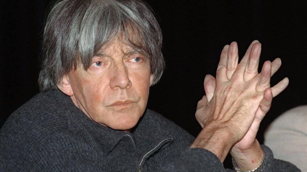 Der französische Philosoph André Glucksmann ist im Alter von 78 Jahren gestorben  (Archivfoto von 1998).