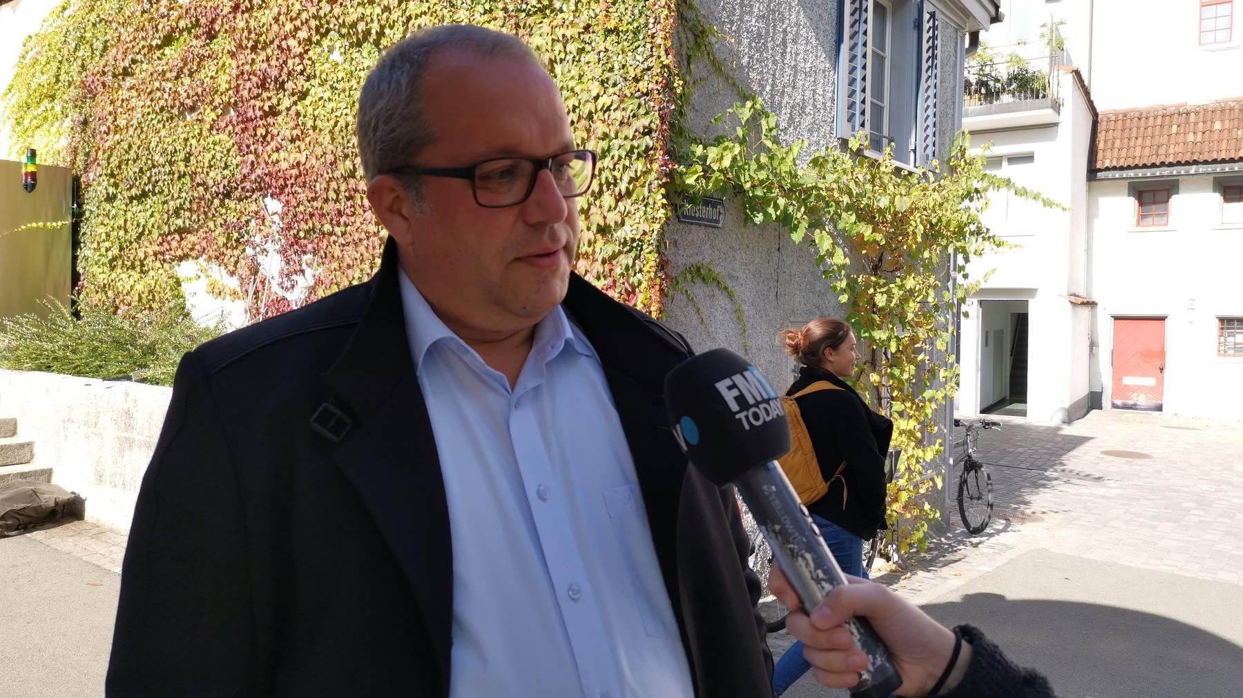 Ruedi Mattle, Stadtpräsident Altstätten