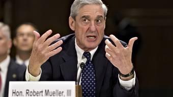 Liefert er weitere Antworten? Der ehemalige FBI-Chef Robert Mueller.