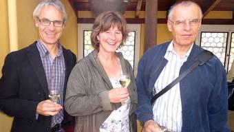 Die neuen Vorstandsmitglieder der Historischen Vereinigung Seetal und Umgebung: Dieter Ruckstuhl, Nicole Lüscher und Paul Wyrsch.