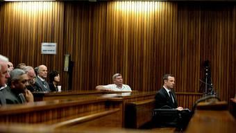 Oscar Pistorius vor Gericht