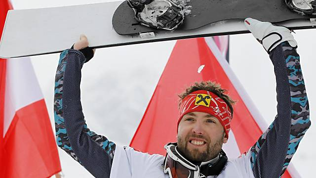 Andreas Prommegger gewinnt Parallel-Slalom in Bad Gastein.