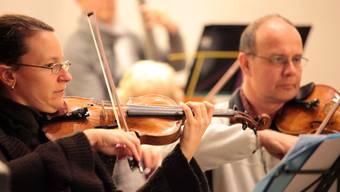 Orchesterverein Reinach bei der Probe