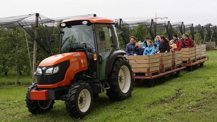 Der Bauernverband Aargau schaut zurück auf eine gelungene Veranstaltung.