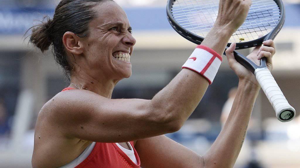 Grösster Erfolg ihrer Karriere: Roberta Vinci zog am US Open in die Halbfinals ein