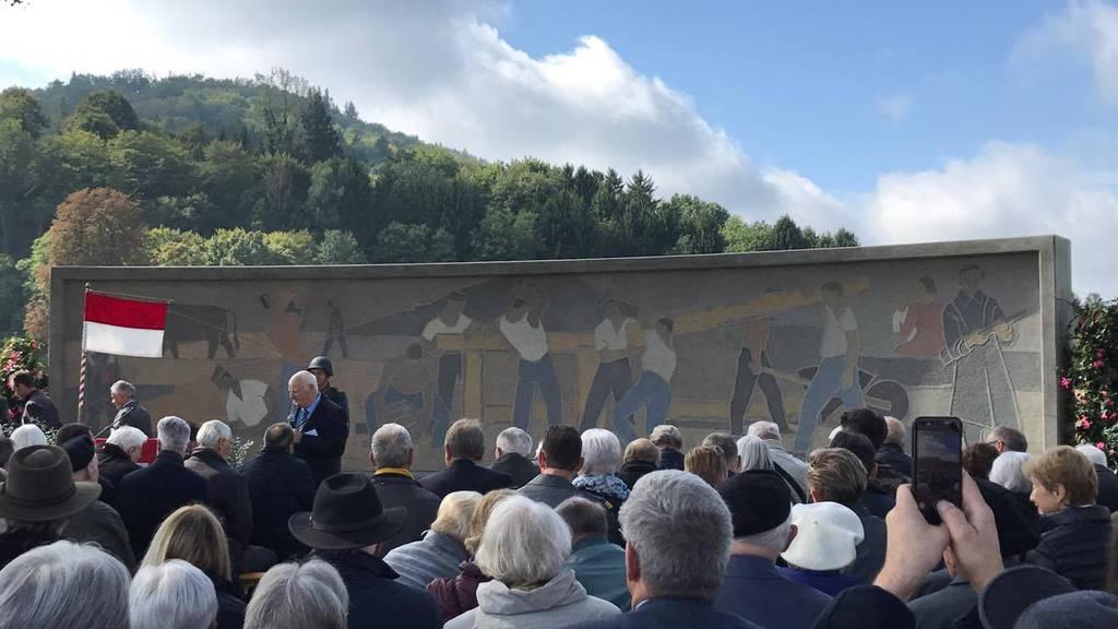 Soldatendenkmal neu eingeweiht