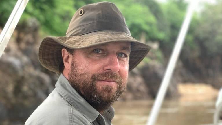 Stephan Stamm ist Berufsjäger in Afrika.