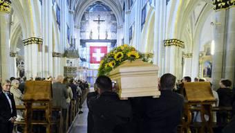 Beerdigung von Carsten Schloter in Freiburg