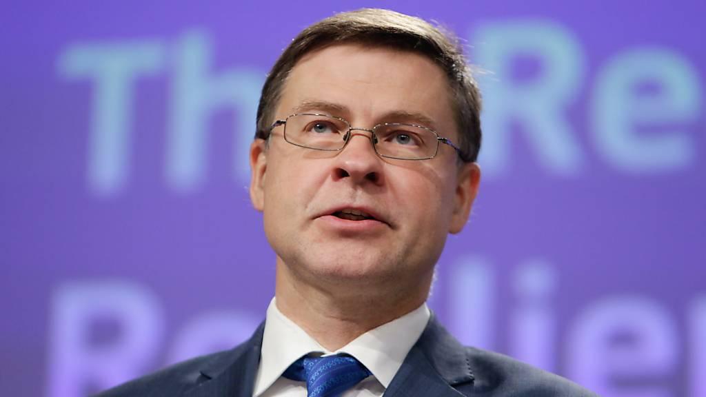 EU-Kommission: Rezession noch tiefer als bisher erwartet. (Archiv)