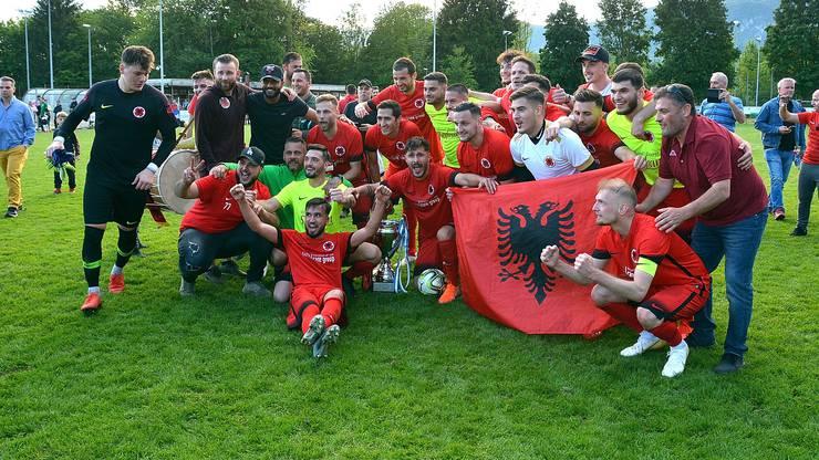 Es wurde deutlich, wer auf dem Sportplatz Widi in Zuchwil Heimvorteil hat: Der Solothurner Cupsieger 2019, FC Iliria.