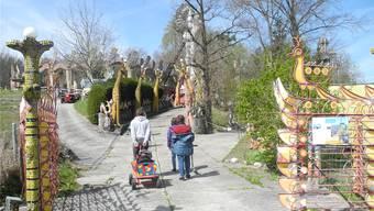Der Bruno-Weber-Park bei Spreitenbach ist ein Ausflugsort mit internationaler Ausstrahlung. Aber wer den Besucherinnen und Besuchern ab 1. Juli die Eintrittsbillette verkauft, ist jetzt völlig offen. Sallustio/Archiv