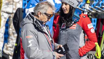 Hans Pum (links) hört im Sommer nach über 40 Jahren im österreichischen Ski-Verband auf
