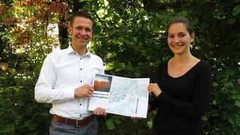 Bernhard von Allmen und Sarah Lüdi haben die bestehende Karte überarbeitet und sie modernisiert.