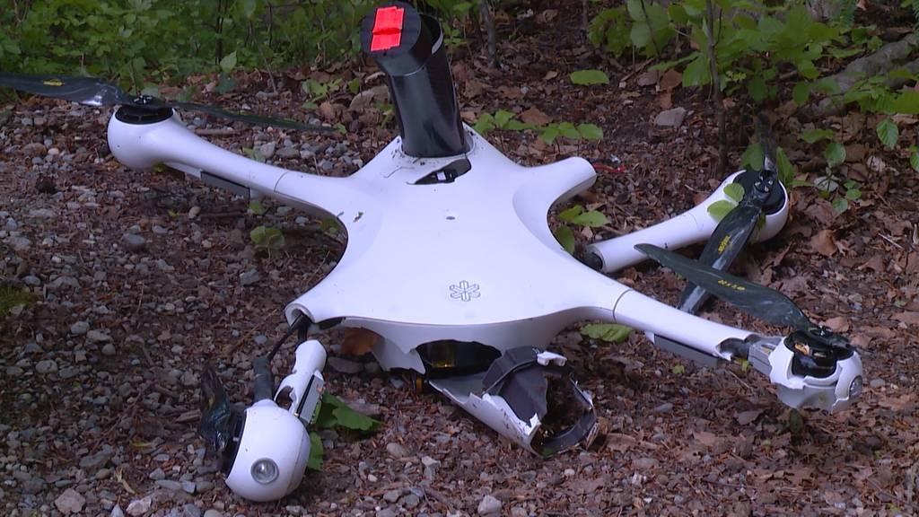 Erneuter Drohnenabsturz: Post stoppt Testflüge